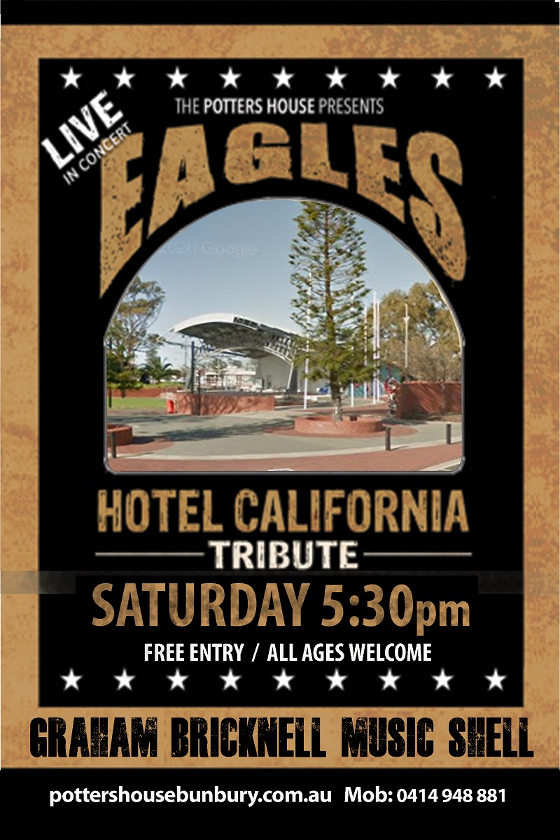 Eagles Tribute Band 27th Feb